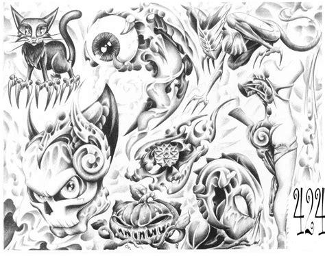 flash art tattoo designs strange 171 black and white 171 flash tatto sets 171