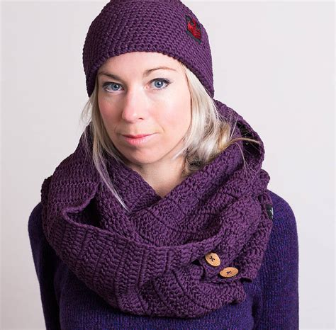 organic cotton scarf and snood by eka notonthehighstreet