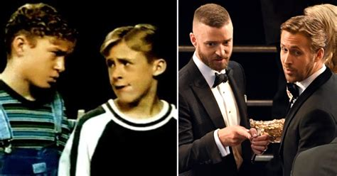 ryan gosling on mickey mouse club ryan gosling and justin timberlake s mickey mouse club