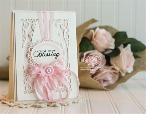 amazing cards to make day of giving friday you are a blessing 187 amazing paper grace