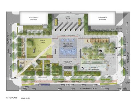 building site plan the city county building plaza our community s backyard indy
