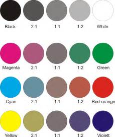 colors of your ideas are all colors a shade of grey