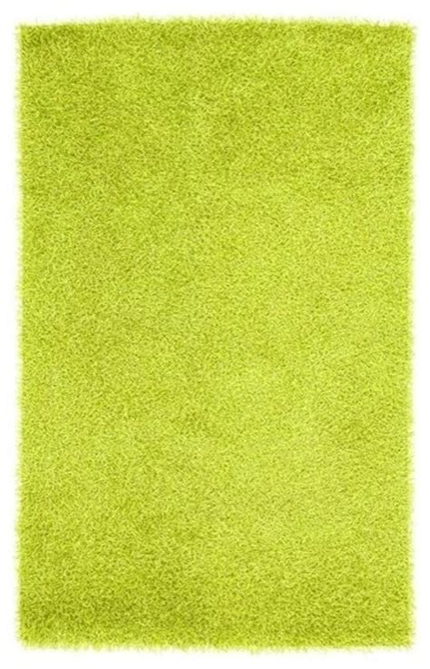 Vivid Lime Green Shag Area Rug Viv 807 5 X 8 Lime Green Rug