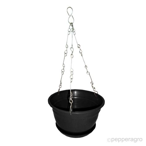 Hanging Planter Chain by Hanging Planter Flower Pot With Metal Chain With Base 8