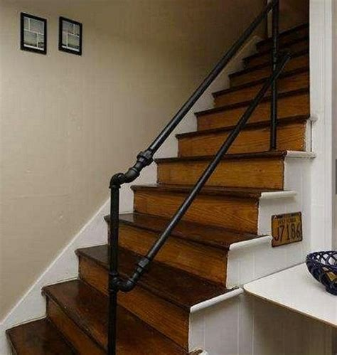Metal Pipe Handrail 212 best images about pipe railing on metal stair railing concrete steps and deck