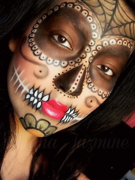 jaw dropping scary face ideas  halloween
