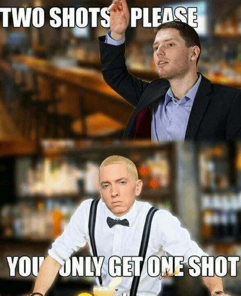 eminem one shot 22 memes to snap you back out of your dismal reality