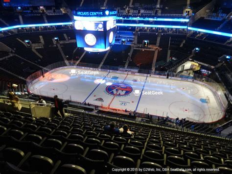 section 205 barclays center barclays center seat views seatgeek