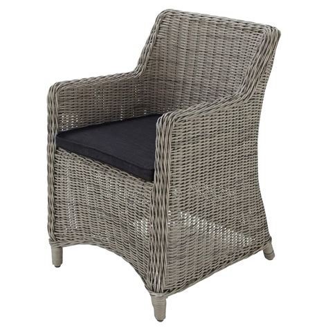 Wicker Armchair by Wicker Garden Armchair In Grey Cape Town Maisons Du Monde