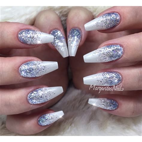Nägel Muster Glitzer 3428 by Winter Glitter Nails Nail Gallery