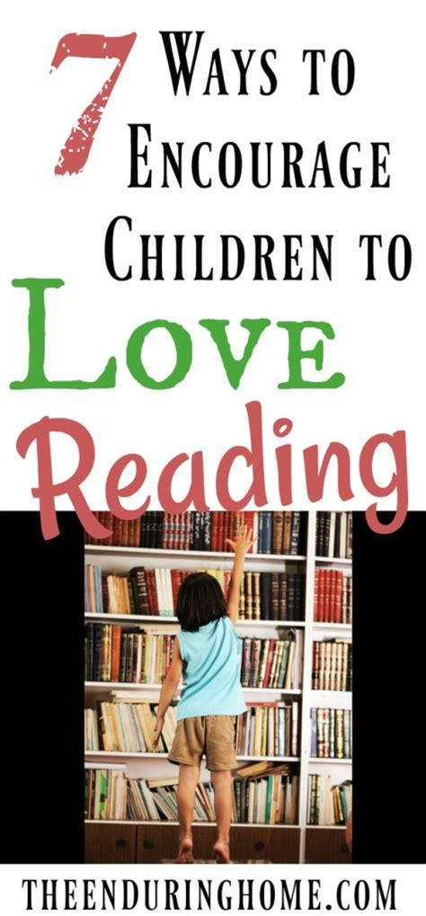 8 Ways To Encourage Your Children To Read by The Enduring Home Page 4 Of 5 Discovering The