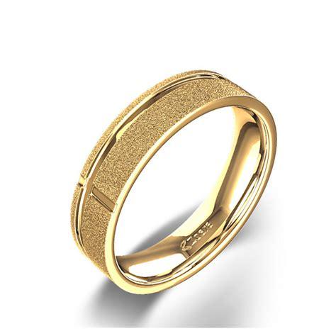 christian eternal cross wedding ring in 14k yellow gold