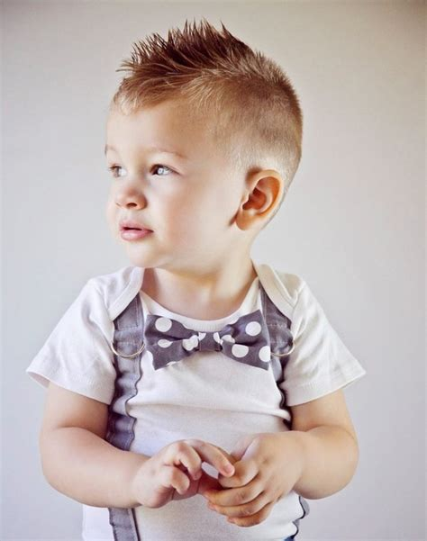 modern haircuts for infants 23 trendy and cute toddler boy haircuts