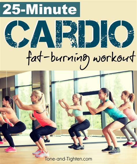burning cardio circuit workout tone and tighten