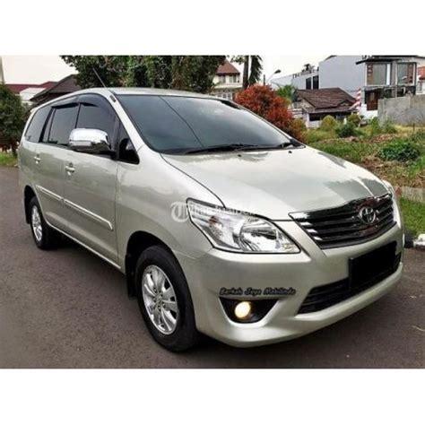 Pangkon Transmisi Innova Diesel toyota grand innova g 2 5 diesel silver second 2012 transmisi matic harga murah jakarta