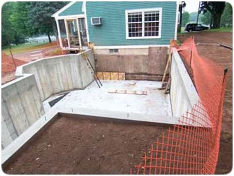 how to build a basement foundation how to build a foundation from start to finish