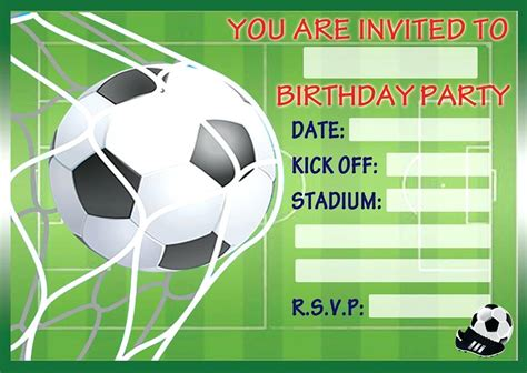 football birthday card template football invitations grunge football bowl