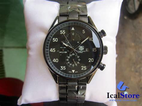 Jam Tangan Murah Qnq Kw Digital tag heuer space x 1962 2012 series rantai hitam ical