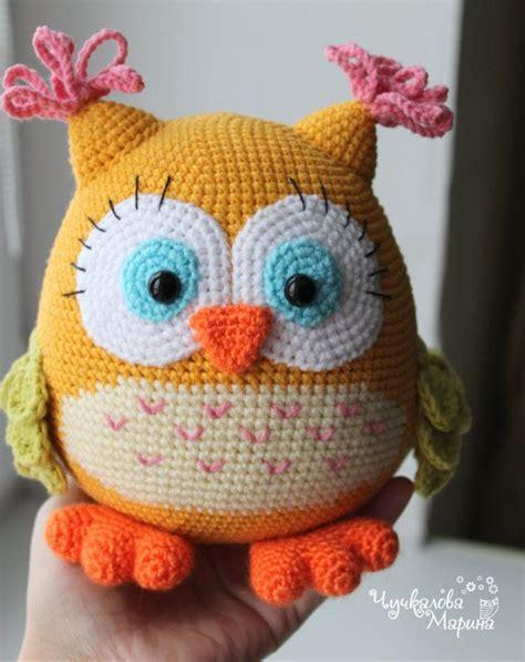 free crochet pattern owl motif 1000 images about hiboux et oiseaux au crochet on