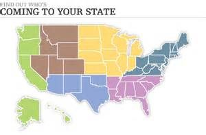 maps of united states regions for