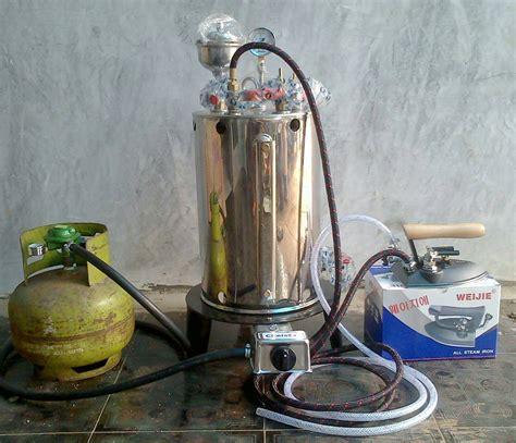 Setrika Laundry jual setrika uap boiler 10liter untuk konveksi laundry