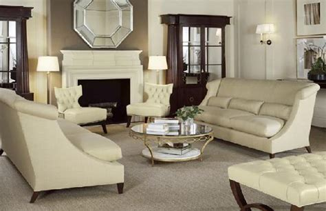 Barbara Barry Furniture by Barbara Barry White Tufted Furniture