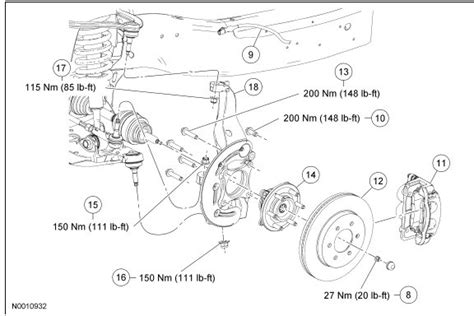 front axle nut torque specs ford truck enthusiasts forums