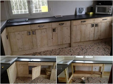 Kitchen Cabinets Made Out Of Pallets Pin By Sigr 250 N Geirsd 243 Ttir On Pallet Projects Pinterest