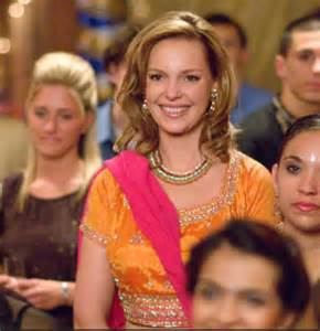 katherine heigl s indian wedding look in 27 dresses