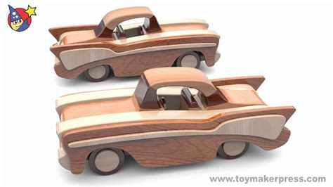 wood toy plans classic cars  chevy youtube
