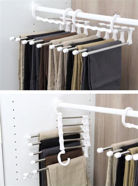 Gantungan Celana Magic Trousers Rack Rak Hanger Celana Panjang Jilba jual hanger trousers rack stainless rak baju jilbab syal