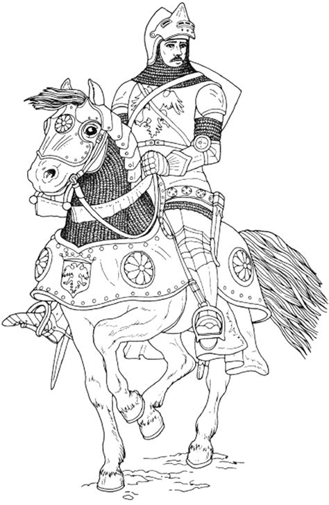 coloring page of knight in armor knight coloring pages coloringpagesabc com