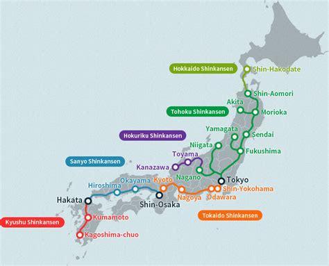 shinkansen map japan bullet map gallery