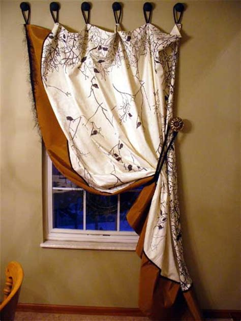 ways to hang curtains without rods home dzine home decor quick and easy window treatments
