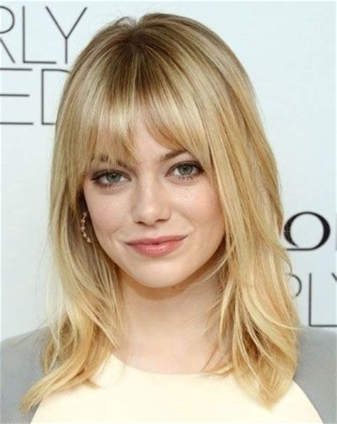 layered bangs for round faces round face shape what to best 25 round face bangs ideas on pinterest
