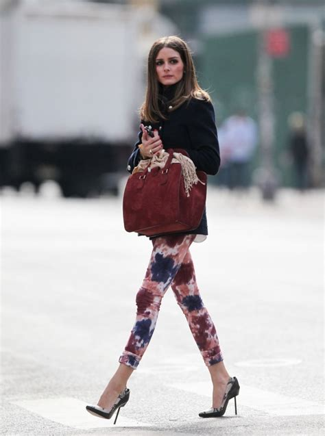 how to wear printed pantstrousers fall2013 pinterest daily obsession hot colored denim new york girl style
