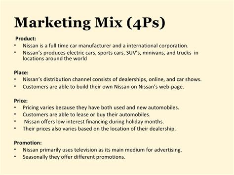 Ford Marketing Mba by Ford Motor Company Marketing Mix Impremedia Net