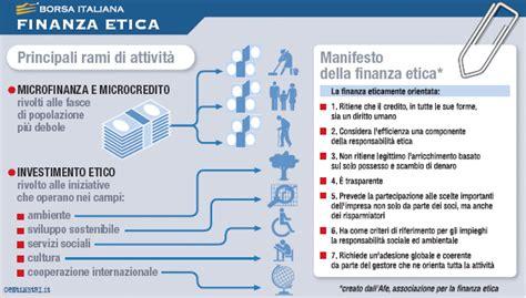 etica microcredito cos 232 la finanza etica borsa italiana