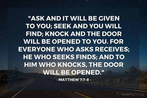 Knock And The Door Shall Be Opened Kjv by Matthew 7 7 8 Today S Verse For Thursday July 7 2016