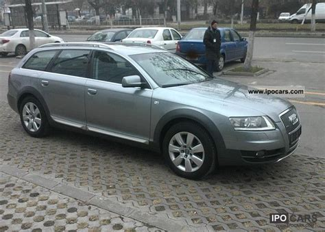 small engine maintenance and repair 2007 audi a6 electronic valve timing 2007 audi a6 allroad quattro 2 7 tdi tiptronic dpf car photo and specs