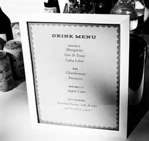 Diy Wedding Template Hacks Seating List To Drink List Drink List Template