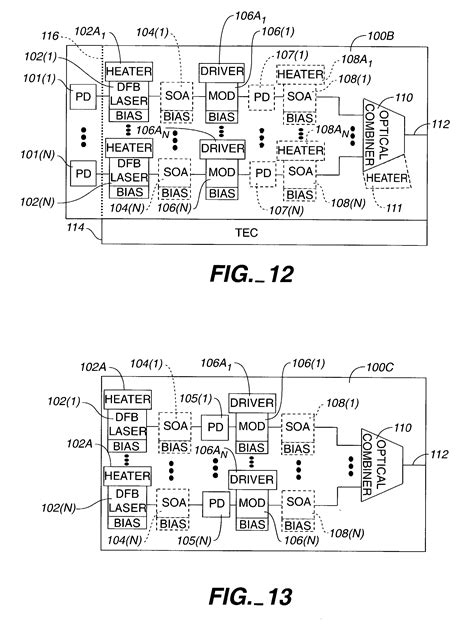 polymer photonic integrated circuits patent us7885492 transmitter photonic integrated circuit txpic chips patents