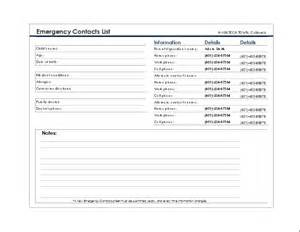emergency contact form template doc 717556 contact form template word ms word