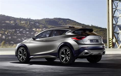 jeep infiniti infiniti releases second teaser for qx30 concept debuting