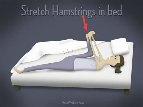 should you exercise before bed stretch in bed nano workout always the stairs