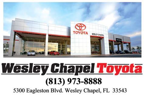 Toyota Of Wesley Chapel Toyota Wesley Chapel