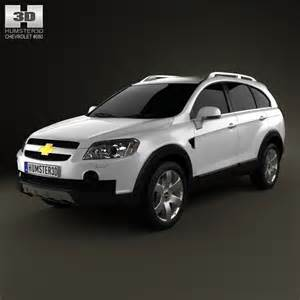 chevrolet captiva 2010 3d model humster3d
