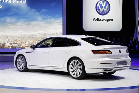 volkswagen arteon new 2018 vw arteon four door coupe is the cc s more