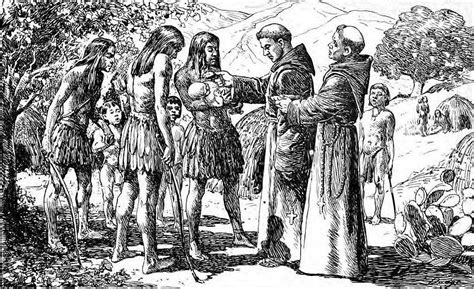 the new spaniards b persuade the inahabitants of the new world to accept catholic christianity as their religion