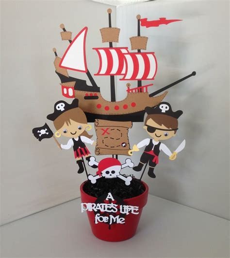 pirate theme decorations pirate decorations pirate birthday centerpiece